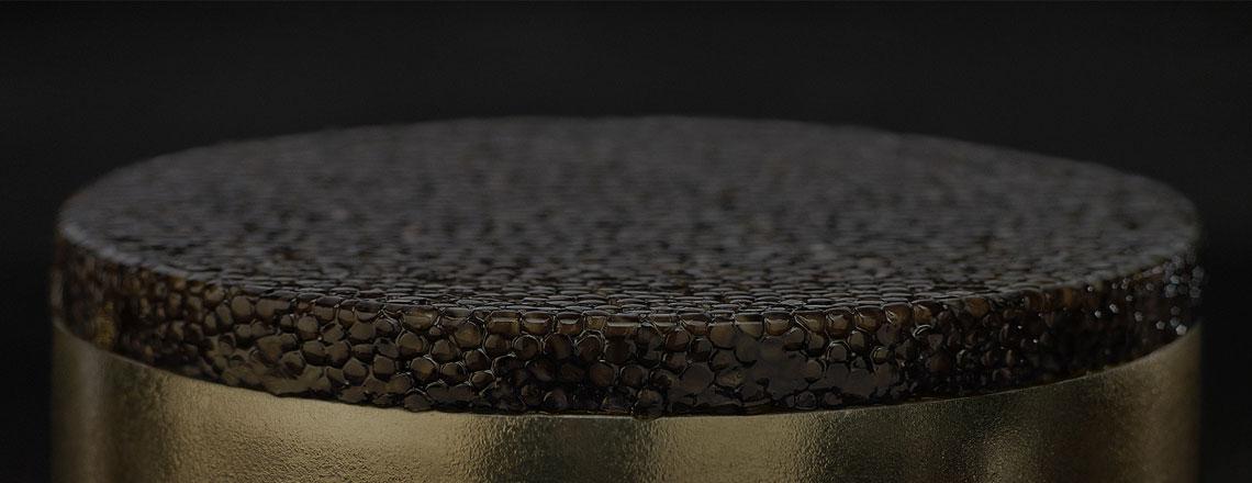 Closeup of caviar
